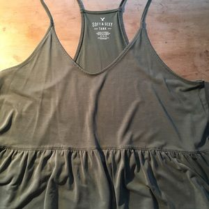 Peplum style tank from American Eagle